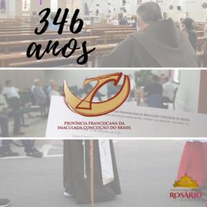 346 anos da Província Franciscana da Imaculada Conceição do Brasil