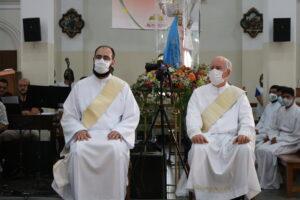 Dois novos sacerdotes ordenados no Santuário no último sábado