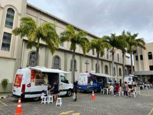 Santuário promove ação social em parceria com a Prefeitura de Vila Velha