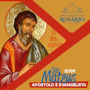 21 de setembro: São Mateus, Apóstolo e Evangelista