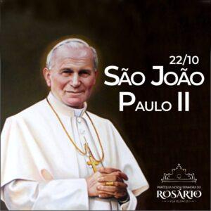 22 de outubro: São João Paulo II